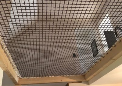 Filet de sécurité mezzanine